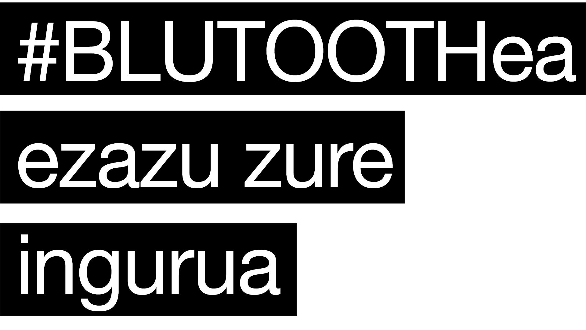 textoBluetoothEUS